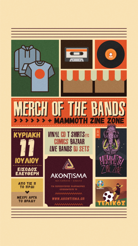 Merch Of The Bands STORY